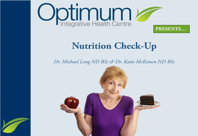 Nutrition Overview - Optimum Integrative