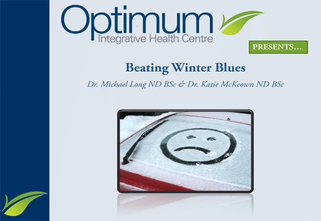 Beating Winter Blues Lecture - Optimum Integrative
