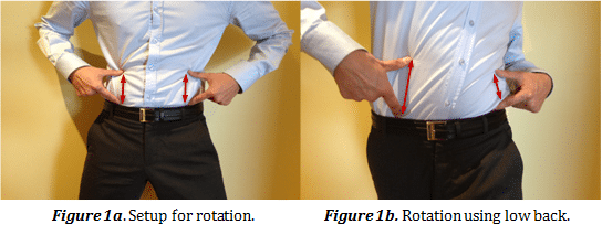 Golfing Back Rotation - Optimum Integrative