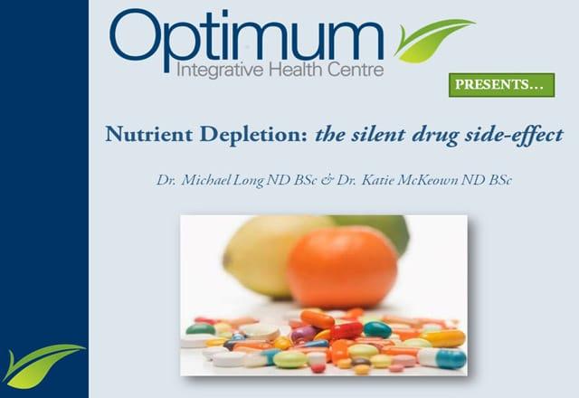 Drug Nutrient Depletion Presentation