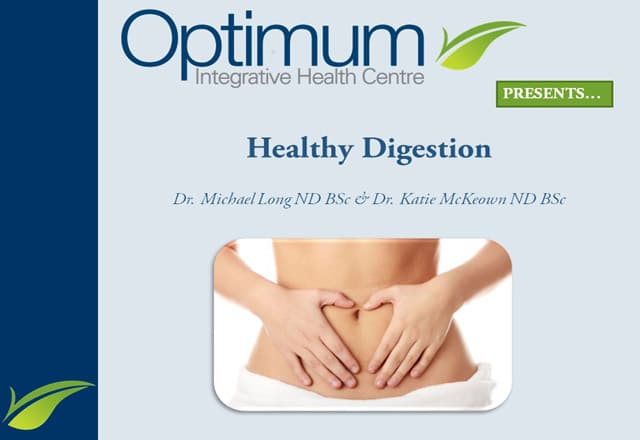Healthy Digestion Presentation