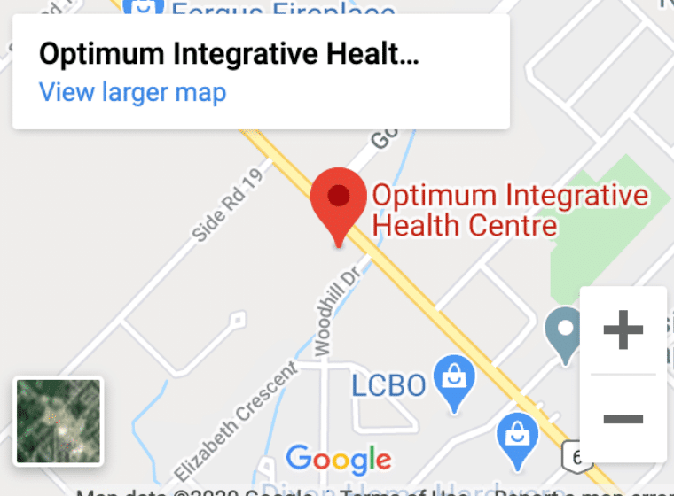 Optimum Integrative Location Map